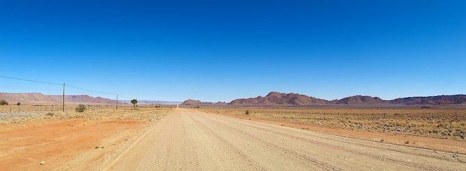 Wüstenpiste in Namibia